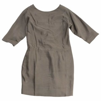 Marni Grey Viscose Dresses