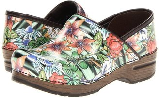 Dansko Professional Tiger Lily (Tiger Lily Patent) - Footwear