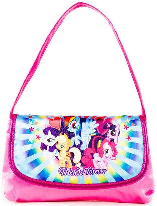 My Little Pony MLP Kids Handbag, Girls or Little Girls Flap Hobo Purse