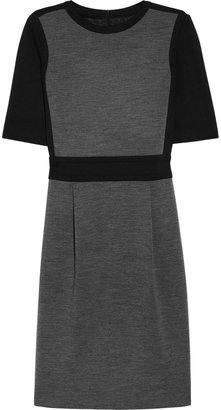 Joseph Kenny two-tone jersey dress