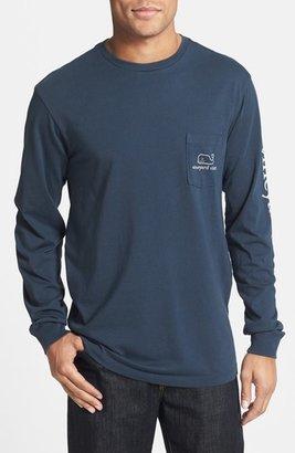 Vineyard Vines Whale Graphic Long Sleeve T-Shirt