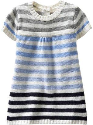 Gap Striped sweater shift dress