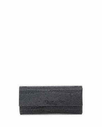 Judith Leiber Couture Ritz Fizz Crystal Clutch Bag, Silver Hematite $2,695 thestylecure.com