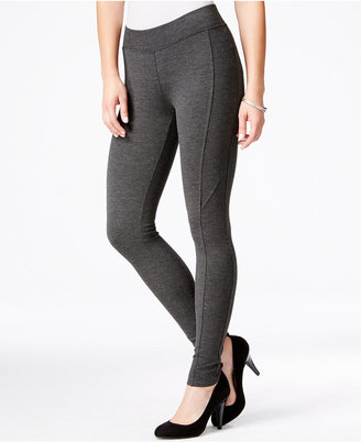 American Rag Seamed Ponte-Knit Leggings