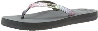 Reef Women's Star Cushion Luxe Flip Flop $36 thestylecure.com