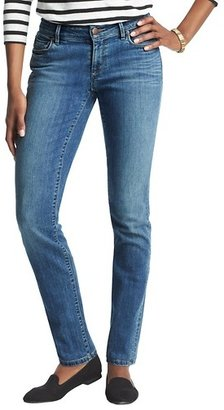 LOFT Tall Curvy Skinny Jeans in Chilled Blue Wash