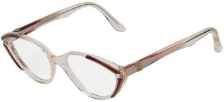 Yves Saint Laurent Pre Owned Oval Frame Glasses
