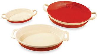 Bed Bath & Beyond Wolfgang Puck Brasserie Red 4-Piece Baking Bowl Set