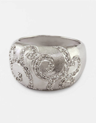 EFFY COLLECTION Sterling Silver Ring with Diamond Accents, .34 ct. t.w.