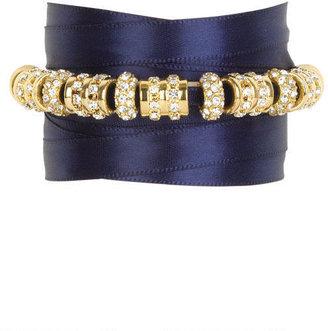 Alloy Janie Jewel Satin Wrap Bracelet