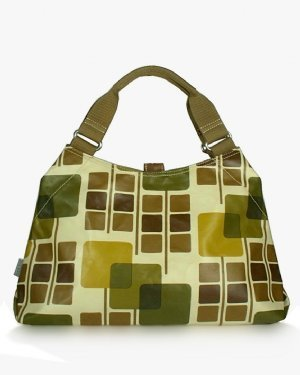 Orla Kiely Square Flowers Classic Shoulder Bag
