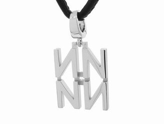 India Hicks Love Letters in Silver on Cord - N
