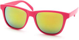 Charlotte Russe Neon Plastic Sunglasses