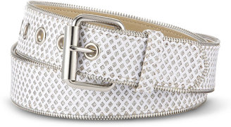 JCPenney RELIC Relic Glitter Zipper-Edge Belt