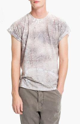 Topman 'High Roller' Map Print T-Shirt