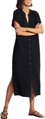 Seafolly Double Cloth Long Coverup Dress