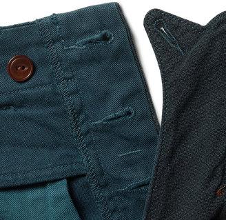 J.Crew Wallace & Barnes Fishtail Cotton and Linen-Blend Shorts