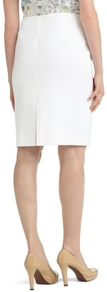 Brooks Brothers Linen Pencil Skirt