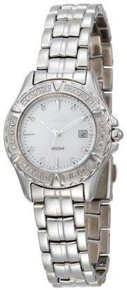 Seiko Women's SXDA97 USA Sport 100 Luxury Diamond Watch $285 thestylecure.com