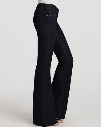 J Brand Lovestory Flare Jeans in Pure Wash