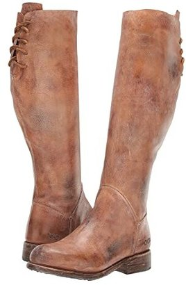 Bed Stu Manchester II (Tan Rustic Leather) Women's Zip Boots
