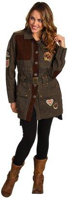 Double D Ranchwear - Frontier Woodsman Jacket (Army Green) - Apparel