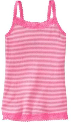 Old Navy Girls Lace-Trim Camis