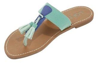 LOFT Vanessa Tassel Slide Sandals
