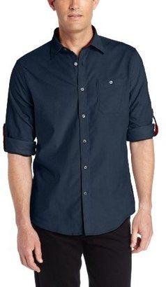 Geoffrey Beene Men's Cotton Pinwale Corduroy Classic Fit Long Sleeve Shirt