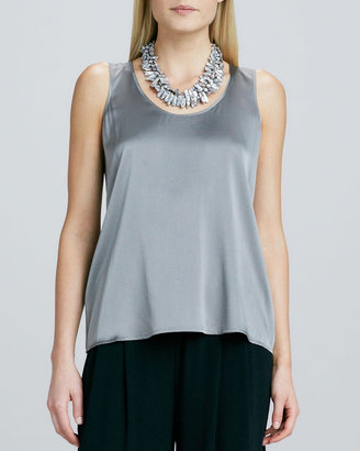 Eileen Fisher Charmeuse Soft Tank, Petite