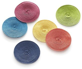 Crate & Barrel Lolly Lemon Coaster