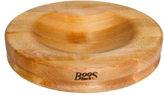 "John Boos & Co.® Maple Edge-Grain Mezzaluna Cutting Board, 13"" in diameter"