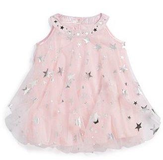 Biscotti 'Starry Eyed' Ruffle Trapeze Dress (Baby Girls)