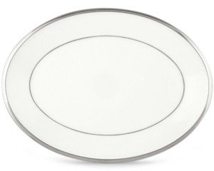 Lenox Closeout! Solitaire White Oval Platter