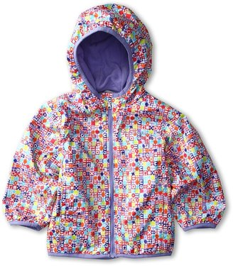 Columbia Kids - Mini Pixel Grabber Wind Jacket (Infant/Toddler) (Multi Ditsy Print/Fairytale) - Apparel