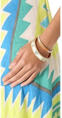 House Of Harlow Aztec Bangle Bracelet