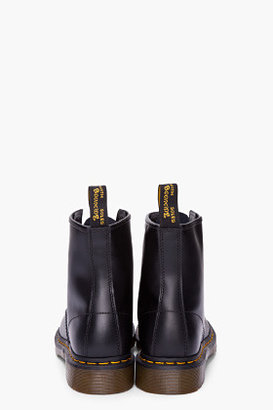 Dr. Martens Black Leather Classic 1460 8-Eye Boots