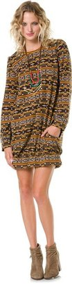 Angie Tribal Sweater Dress