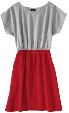 Mossimo Women's Cap-sleeve Colorblock Dress w/ Elastic waist - Assorted Colors