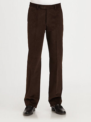 Saks Fifth Avenue Black Label Corduroy Trousers