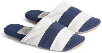 Hackett Rugby Stripe Slippers In A Bag