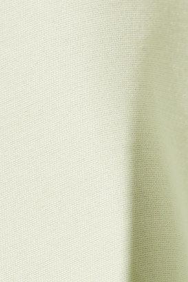 Halston Cotton and silk-blend dress