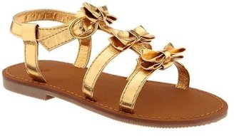 Gap Metallic bow sandals