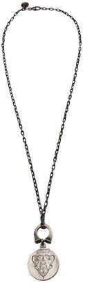 Gucci Vintage Logo pendant necklace
