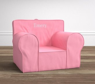 Pottery Barn Kids Bright Pink Oversized Anywhere Chair®