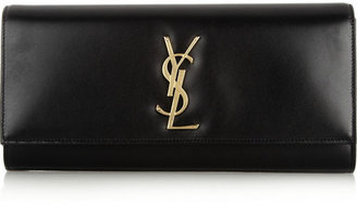 Saint Laurent Monogramme leather clutch