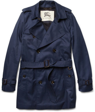 Burberry Double-Breasted Twill Trench Coat
