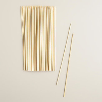 Cost Plus World Market Round Bamboo Skewers, 100-Count