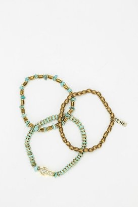 Vanessa Mooney Bright Side Of The Road Bracelet - Set of 3