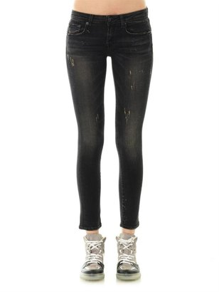 R 13 Kate mid-rise skinny jeans